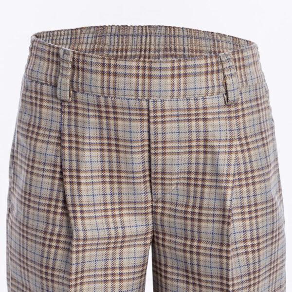 Checked Shorts 1