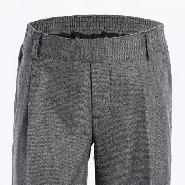 Girls grey trousers 1