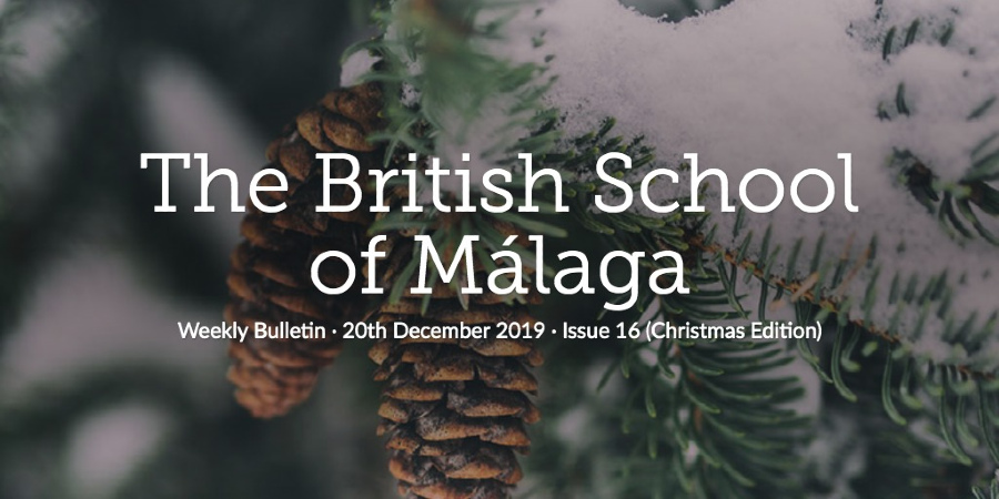 Weekly Bulletin 20th December 2019