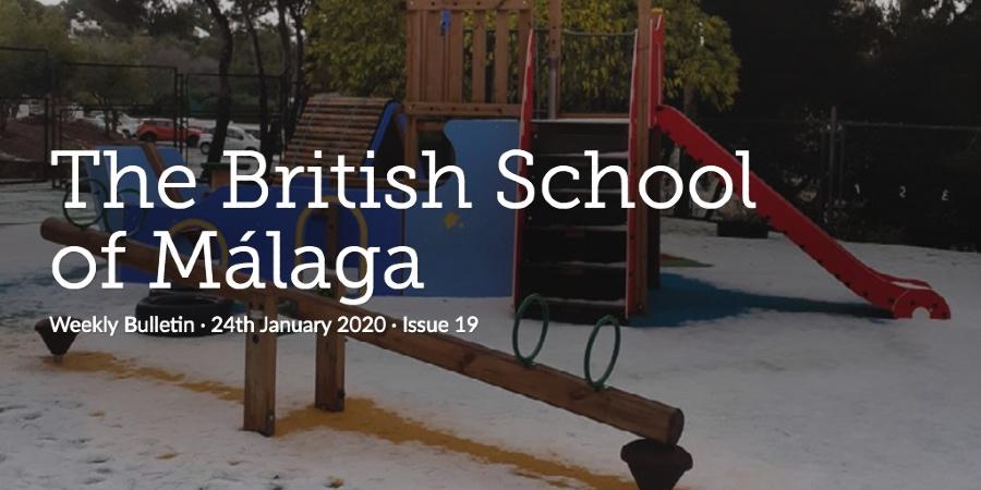Weekly Bulletin 24th January 2020