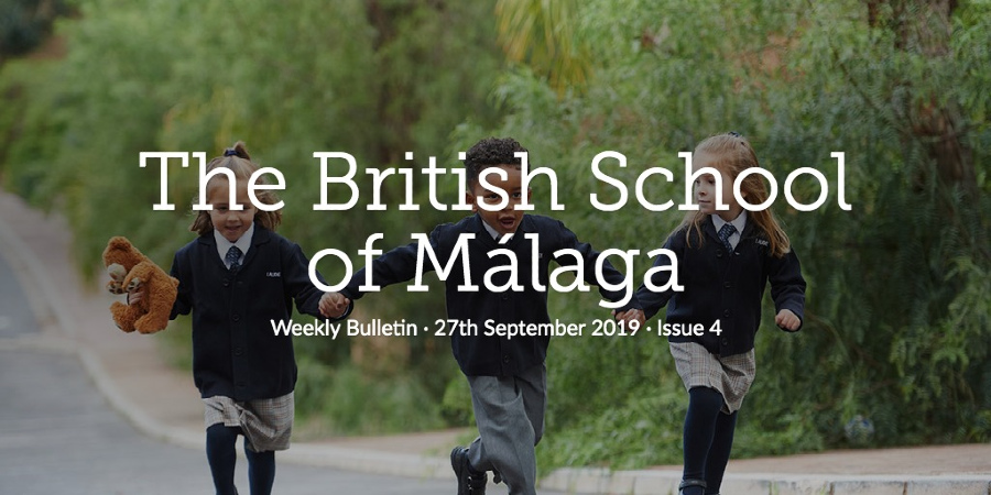 Weekly Bulletin 27th September 2019