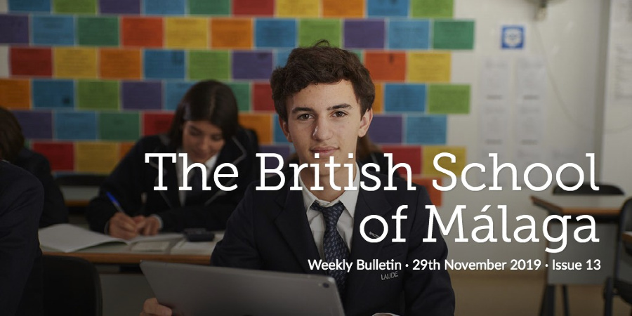 Weekly Bulletin 29th November 2019