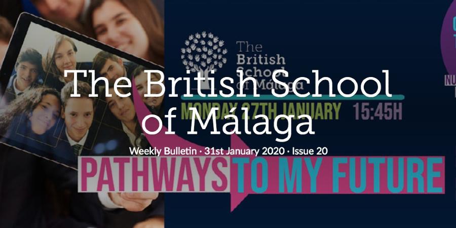 Weekly Bulletin 31st January 2020