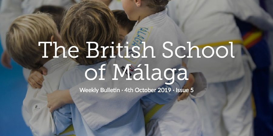 Weekly Bulletin 4th October 2019