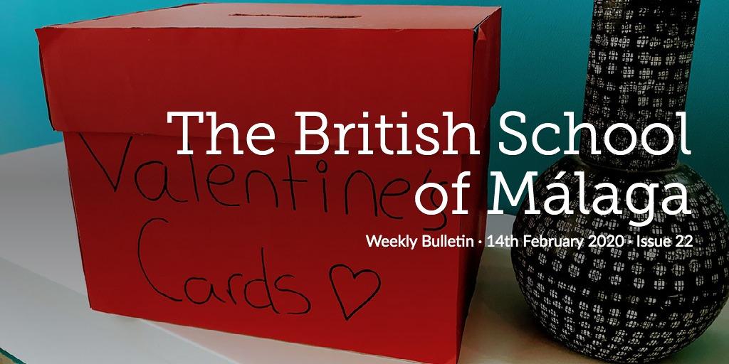 Weekly Bulletin 14th February 2020